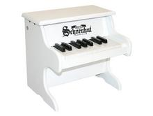 18 Key White Toy Piano