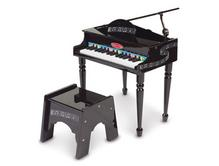 Melissa & Doug Black Grand Piano