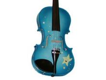 Childrens Violins | Blue Twinkle Star Childrens Violin